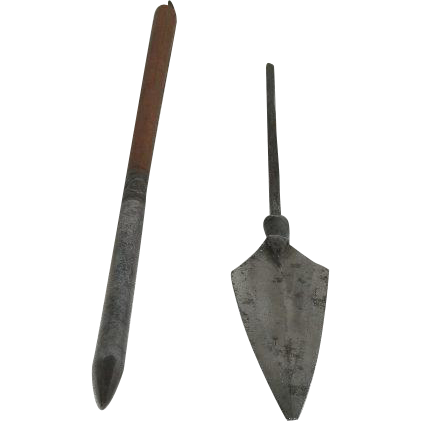 Two, Manchu-China Arrow Tips