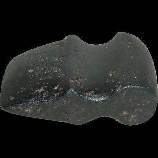 Native American, Black Stone 3/4 Groove Axe