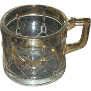 Westmoreland, Drum & Eagle, Gold Trimmed Child's Mug