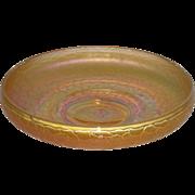 Marigold, Tree of Life, Carnival Glass ICS Bowl