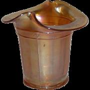 Dugan, Marigold, Carnival Glass, Violet Basket