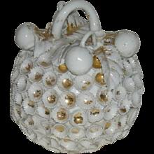 Unique, Hand Made, Porcelain Powder Jar