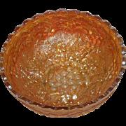 Marigold, Imperial Grape, Carnival Glass Bowl