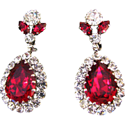 "Stunning Vintage ""Austria"" Earrings"