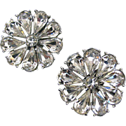 Spectacular Vintage Daisy-like Earrings