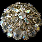 Pretty Vintage Schreiner Pin / Pendant / Brooch