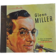 "A Victor Musical Smart Set ""Glenn Miller an Album of Outstanding Arrangements on Victor Records"" Set of Four 78 Records Released 1946"