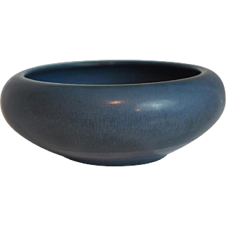 Rookwood Blue Matte Glaze Center Bowl # 957C Dated 1922