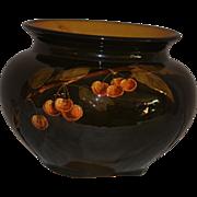 Large Original Art Pottery Weller Dickens Ware Hand Painted Jardinière