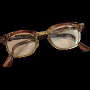 "Vintage Shuron Nusir Royale ""Cat's Eye"" Woman's Eyeglasses"