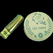 Vintage 1950's Orig Ideal Toni Harriet Hubbard Ayer Doll Makeup Perfume Powder