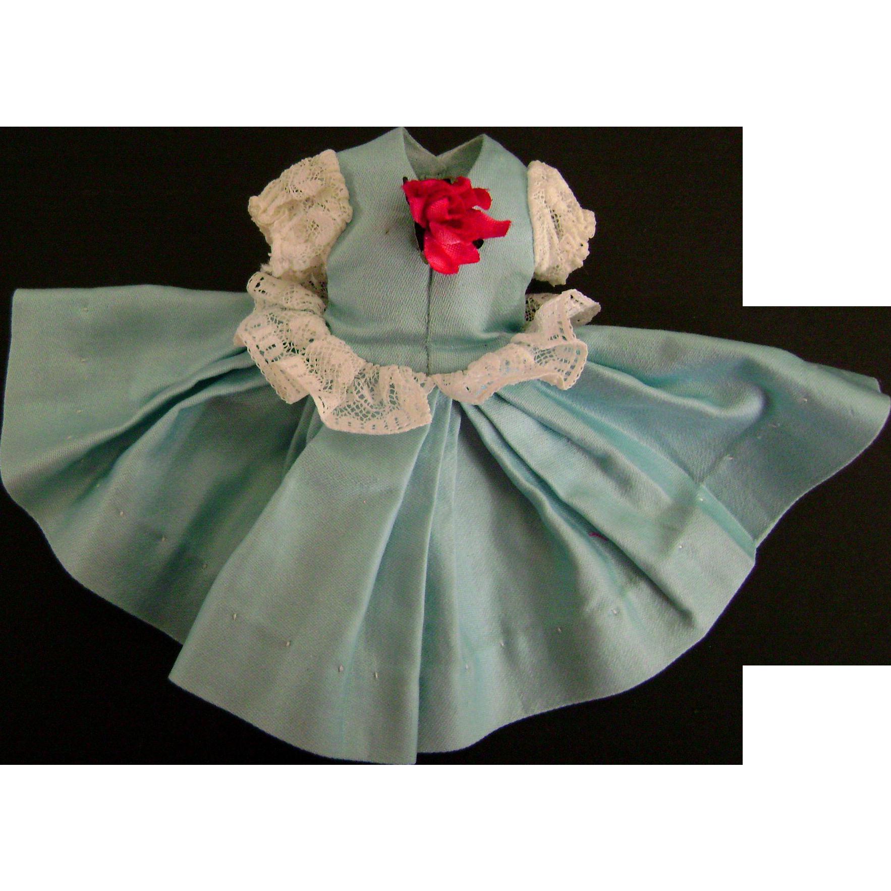 Vintage 1958 Near Mint Madame Alexander Cissette Doll Clothes RARE Tagged Dress