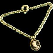 Vintage Doll Jewelry Cameo Necklace Madame Alexander Cissy, Elise, Miss Revlon