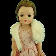 Vintage Ermine Fur Stole for Madame Alexander Cissy & Elise Doll Miss Revlon