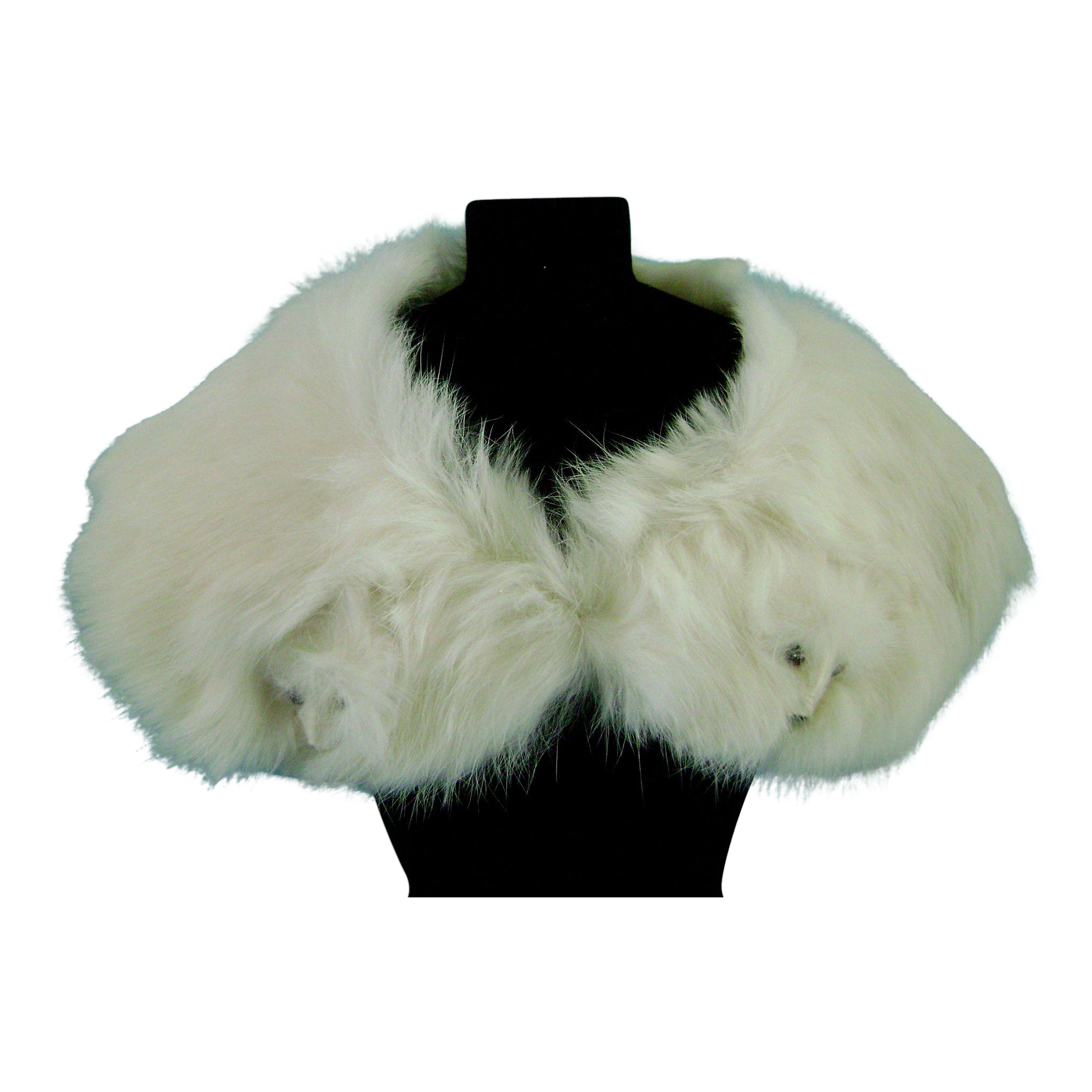 Vintage Ermine Fur Stole for Madame Alexander Cissy Doll Miss Revlon Terri Lee