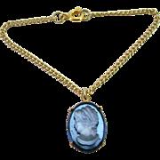 Vintage Doll Jewelry Necklace Cameo Rhinestone Madame Alexander Cissy Miss Revlon