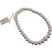 Vintage Orig Madame Alexander Cissy & Elise Doll Jewelry Pearl Necklace Miss Revlon