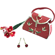 Vintage Doll Purse & Jewelry Madame Alexander Cissy Miss Revlon Toni Vogue Jill