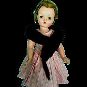 Vintage Genuine Mink Fur Stole for Madame Alexander Cissy Miss Revlon Doll