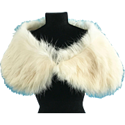 Vintage Genuine Fur Stole Madame Alexander Cissy Doll Miss Revlon Terri Lee French or German Bisque