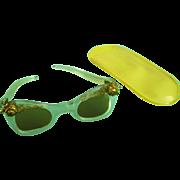 Vintage Orig Madame Alexander Cissy,Terri Lee Doll Sun Glasses Sunglasses France