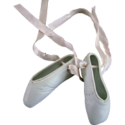 Vintage Original Madame Alexander Elise Doll Ballet Shoes Slippers Valentine