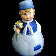 Vintage Antique Goebel Half Doll Pin Cushion Porcelain Perfume Bottle German