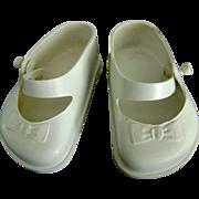 Vintage ORIGINAL 1950's Ideal Saucy Walker Doll Shoes also fit Toni P94