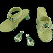 Vintage Vogue Jill Bride Doll Shoes Jewelry Little Miss Revlon Ginger Coty Girl