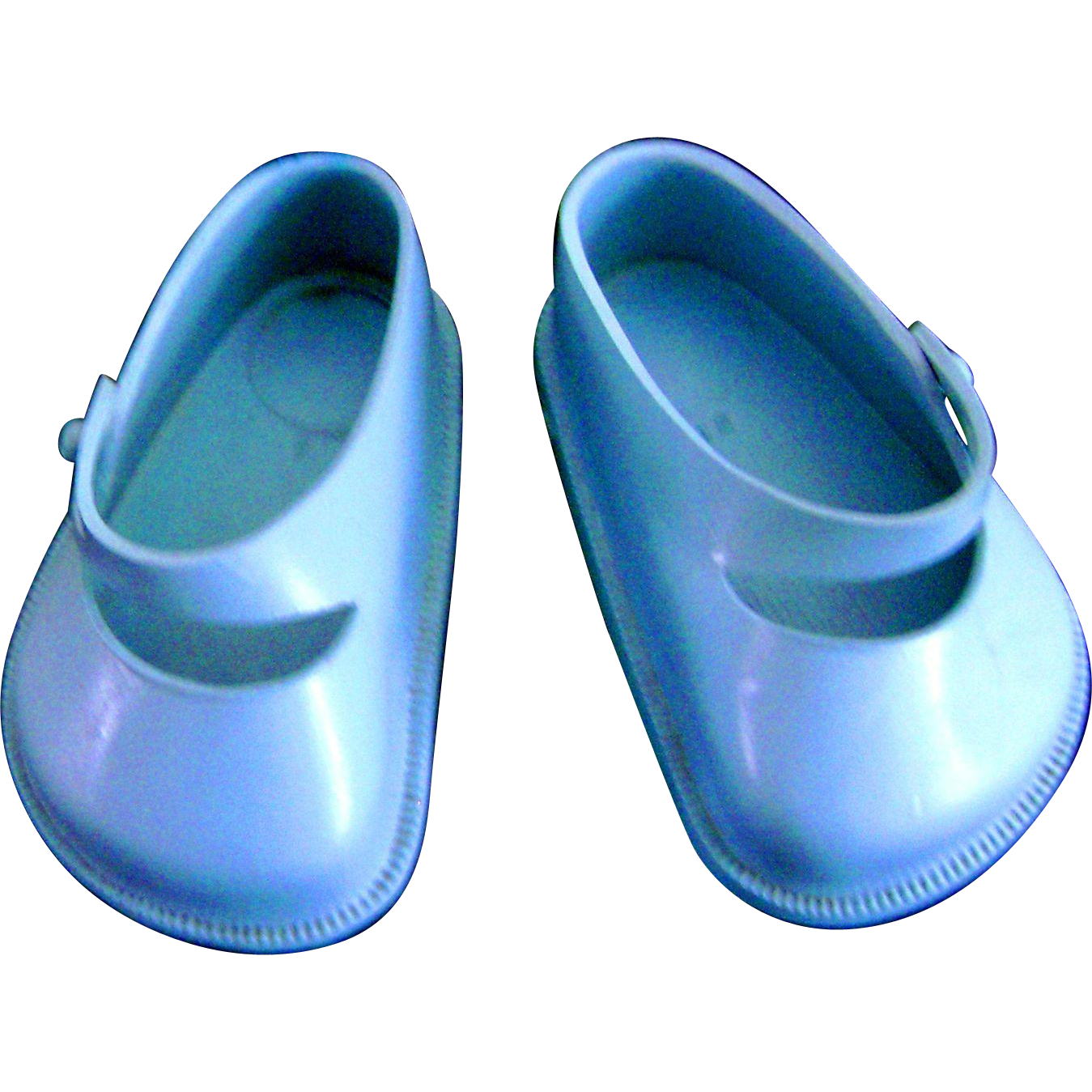 """Vintage 1950's Doll Shoes for Ideal Toni P92 19"""" Shirley Temple 16"""" Saucy Walker"""