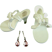 Vintage Horsman Cindy Doll Shoes Madame Alexander Cissy Miss Revlon Toni Jewelry