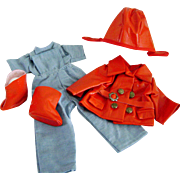 """""""Bright Eyes"""" Aviator Uniform for Vintage Shirley Temple 16"""" Composition Doll"""