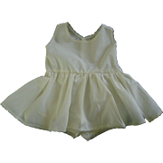 """Slip & Undie Onesie made for Vintage Shirley Temple 27"""" Composition Doll"""