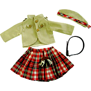 """Wee Willie Winkie"" Uniform made 4 Vintage Shirley Temple 16"" Composition Doll"