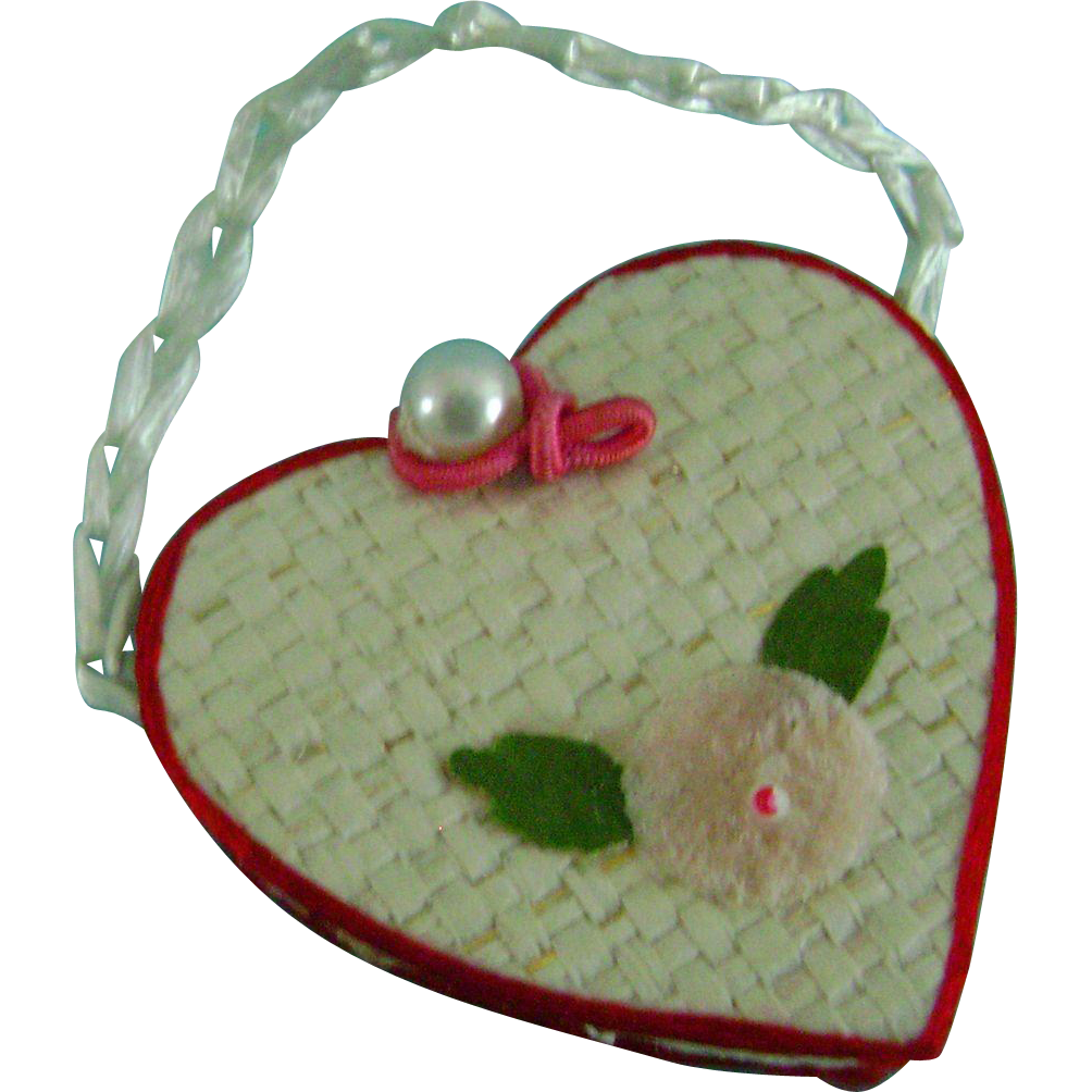 Vintage Original Ideal Tammy Doll Purse Only Sold in the Japan Market!!!! RARE!!