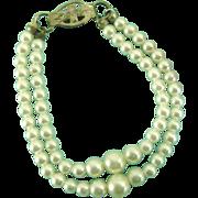 Vintage Orig Ideal Tammy Doll Pearl Necklace Japan Cissette Little Miss Revlon