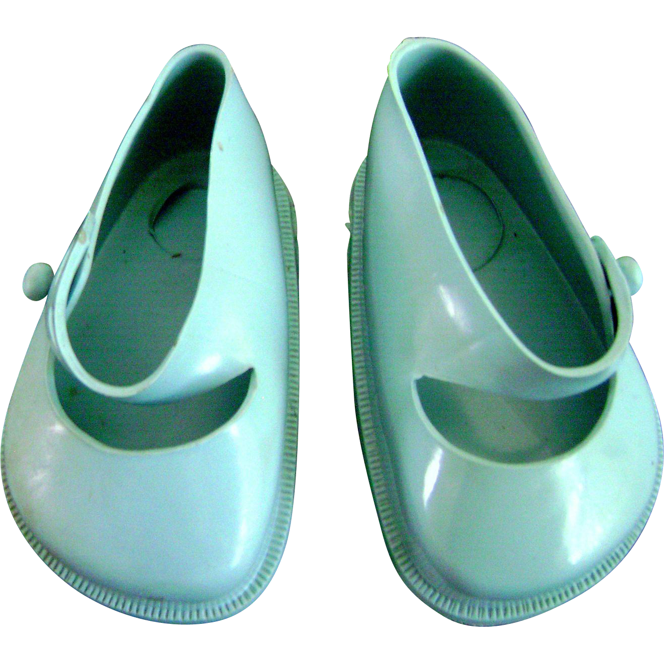 Vintage Original Terri Lee Blue Doll Shoes fit Ideal Toni P93 too!!!