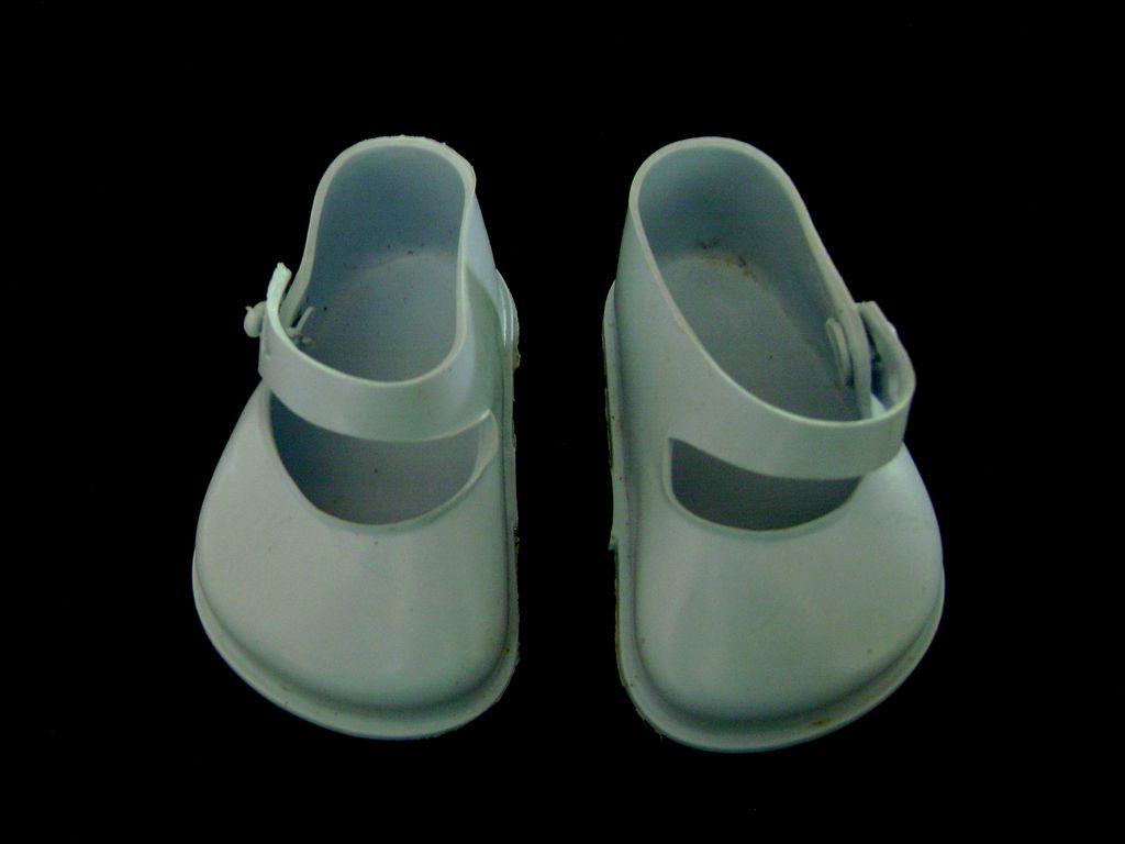 Vintage Original Terri Lee Blue Doll Shoes also fit Ideal Toni P93
