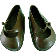 Vintage Original Brownie Terri Lee Brown Doll Shoes fit Ideal Toni P93 too!!!