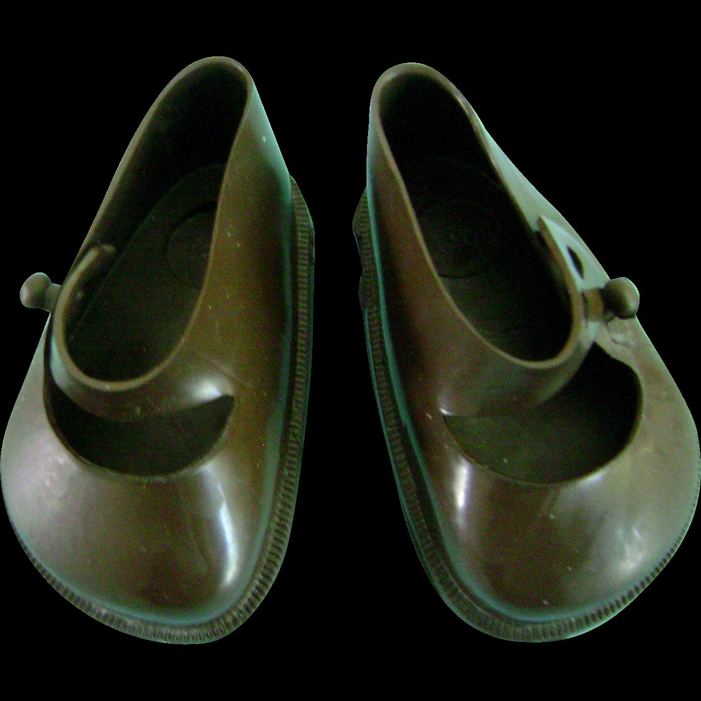 Vintage Original Brownie Terri Lee Brown Doll Shoes fit Ideal Toni P93 too!!!