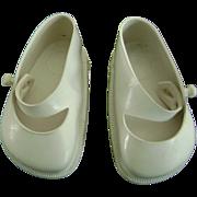Vintage Original Terri Lee White Doll Shoes fit Ideal Toni P93 too!
