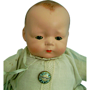 Vintage Antique ALL ORIGINAL Tynie Tinie Baby Doll Bye-lo Dream Friend in Tagged Clothes