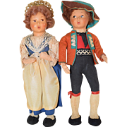 International Dolls (Boy and Girl)