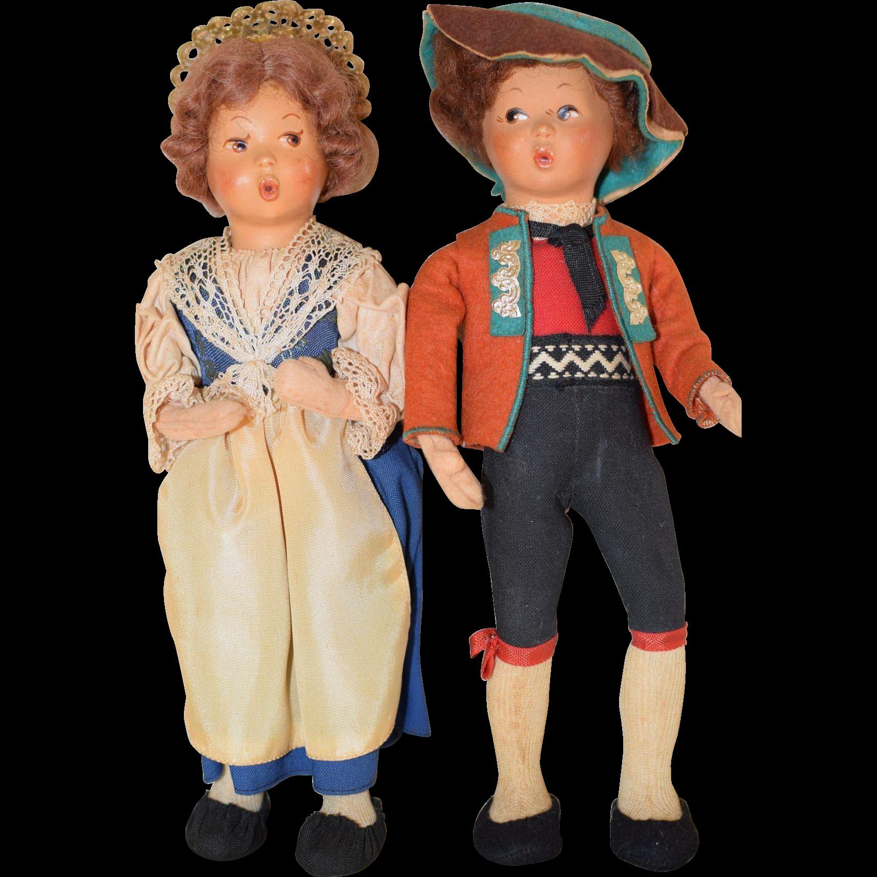 International Dolls (Boy and Girl)