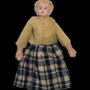 Tin head Antique Doll