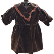 Wonderful Brown Doll Coat Dress