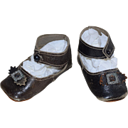 Sturdy Leather Doll Shoes