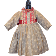 Charming Early Doll Dress