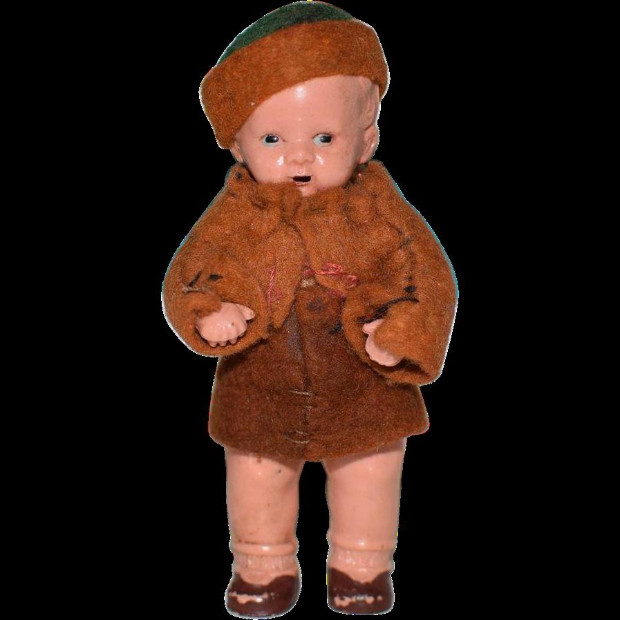 """3"""" Cutie Boy Doll"""