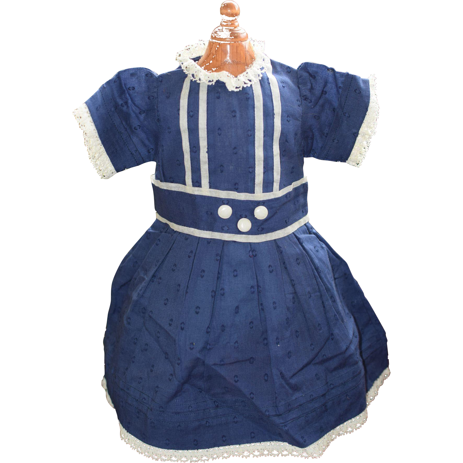 New Pretty Blue Doll Dress